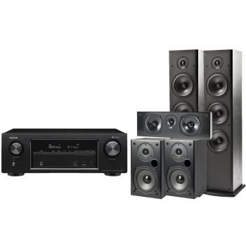 Denon AVR-X2400+ Polk T50+T30+T15