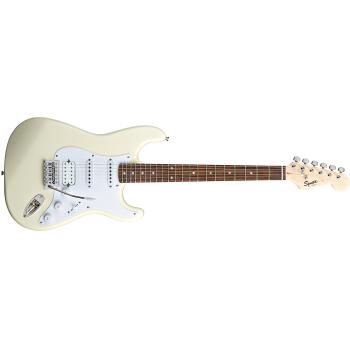 Fender Squier Bullet Stratocaster con Tremolo HSS Arctic White