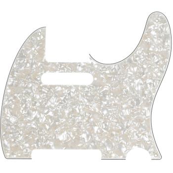 Fender Golpeador Telecaster 8 agujeros de montaje Blanco perlado envejecido