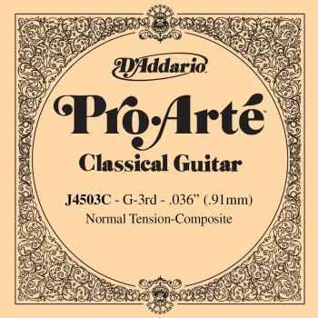 D´addario J4503C Cuerda Suelta Serie Pro para Guitarra Clásica