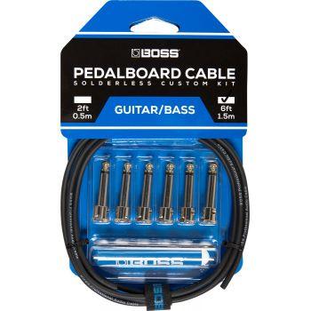 Boss BCK6 Kit Cables de Pedalera sin Soldadura
