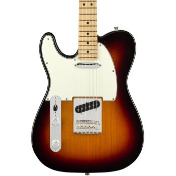 Fender Player Telecaster MN 3 Tone Sunburst LH Guitarra Eléctrica Zurdos