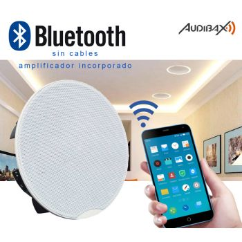 Audibax CM508-BT Altavoces Techo Blancos Bluetooth empotrables 30W 5,25