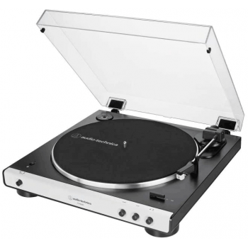 Audio Technica AT-LP60XBT WH Giradiscos Bluetooth Inalámbrico