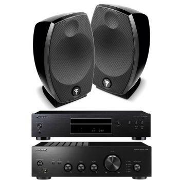 Pioneer A10AEK+PD10AE+Focal Sib Evo Conjunto Audio