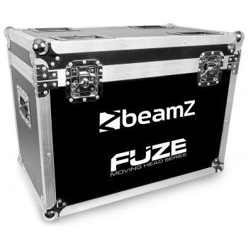 Beamz FCFZ 2 FlightCase Para 2 Unidades de Cabezas Móviles Serie FUZE
