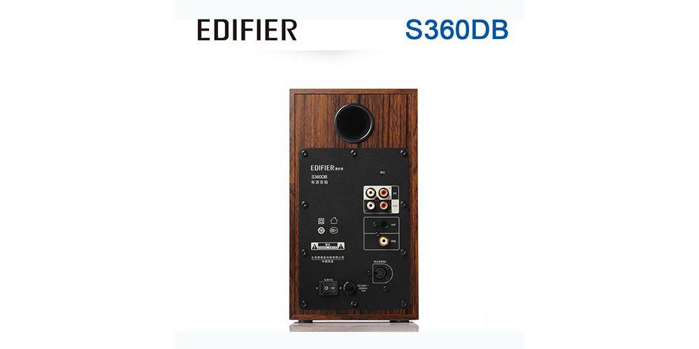edifier s360 conexiones