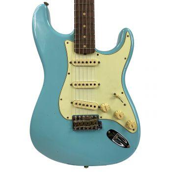 Fender Custom Shop Limited Edition 59 Stratocaster RW Daphne Blue Jurneyman Relic