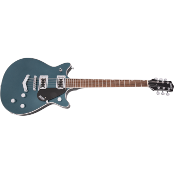 Gretsch G5222 Electromatic Double Jet BT with V-Stoptail LRL Jade Grey Metallic Guitarra Electrica