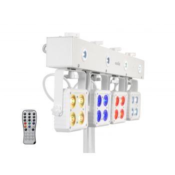 Eurolite LED KLS-180 Compact Light Set White Focos Led