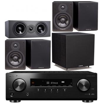 Pioneer VSX-534 BK+Cambridge Audio SX-50 Black Cinema Pack 5.1