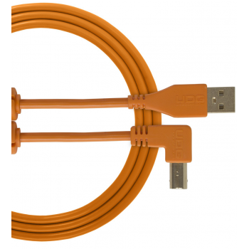 Udg U95005OR Ultimate Cable USB 2.0 A-B Orange en Angulo 2M