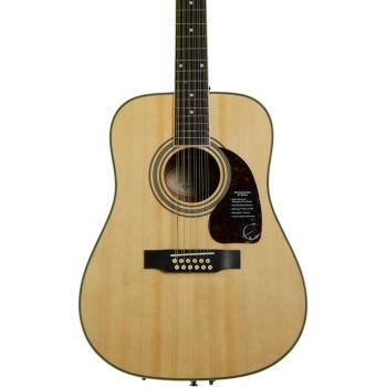 Epiphone DR-212 Natural Guitarra Acústica 12 cdas