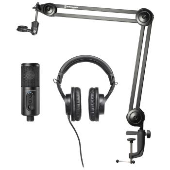 Audio-Technica Creator Pack para Streaming, Podcasting y Grabación