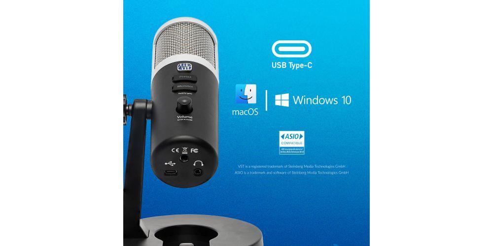 presonus revelator caracteristicas microfono