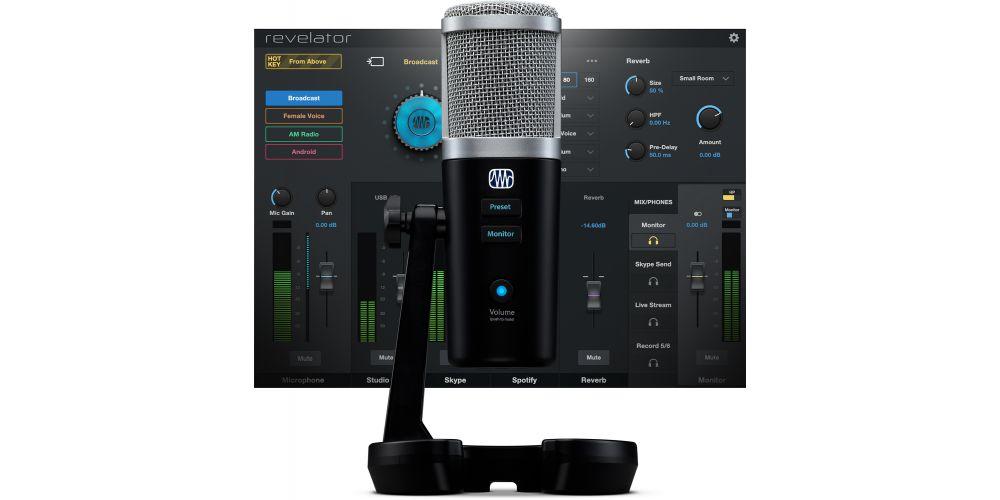 presonus revelator microfono software