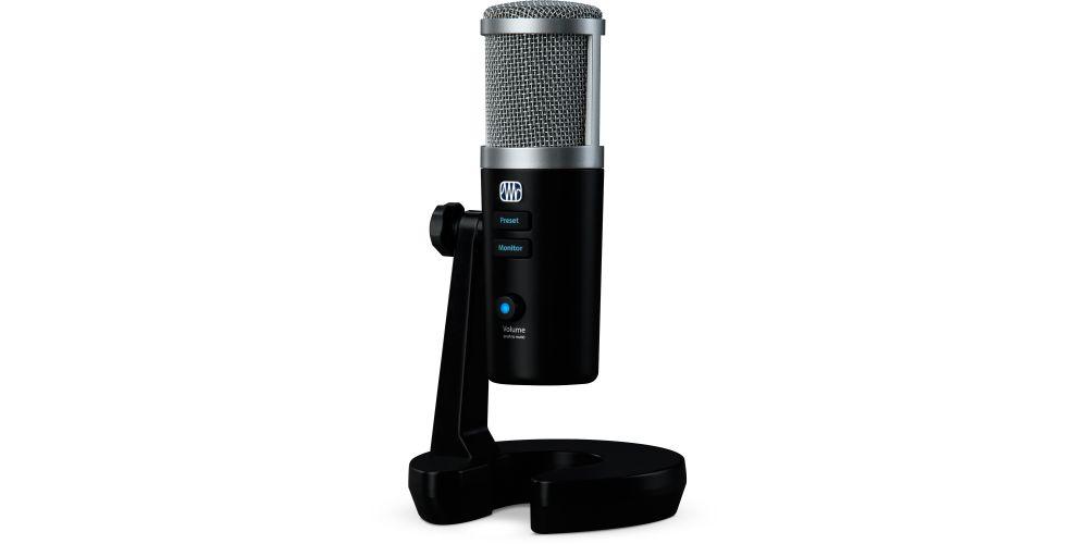 presonus revelator microfono usb c conexiones