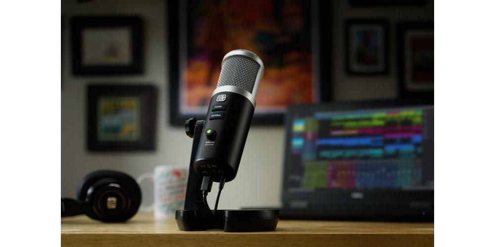 presonus revelator microfono usb c podcasting live