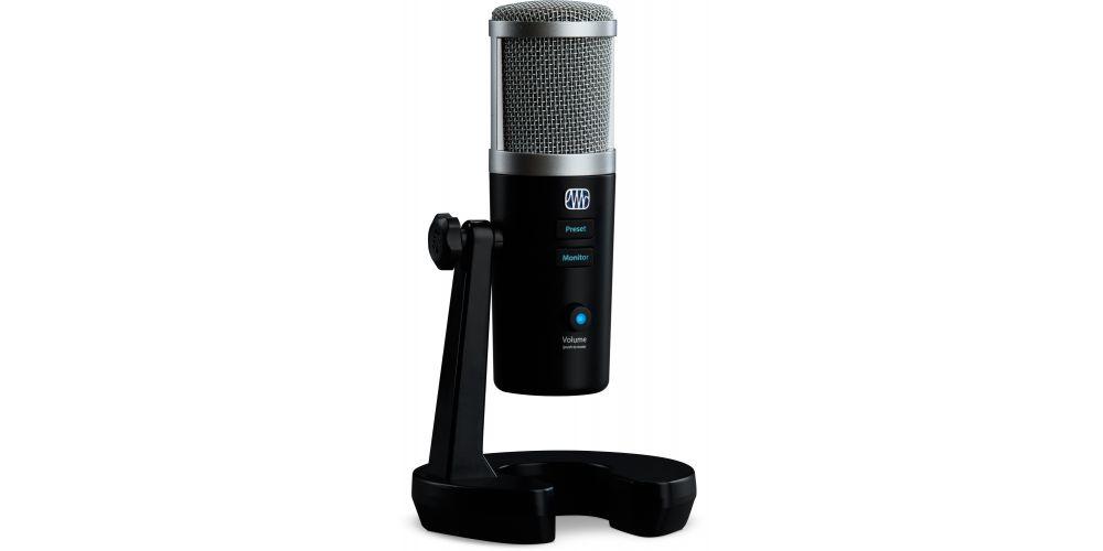 presonus revelator microfono usb c youtubers controles
