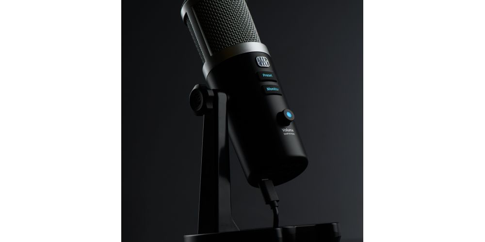 presonus revelator microfono usb c youtubers