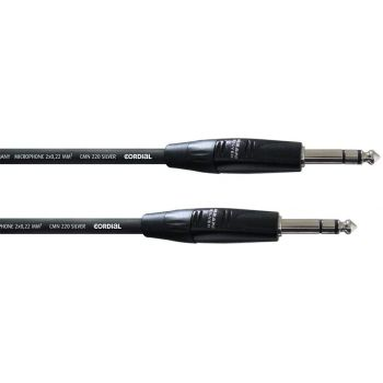 Cordial CIM 0,3 VV Cable Jack a Jack Stereo 0,3 Metros