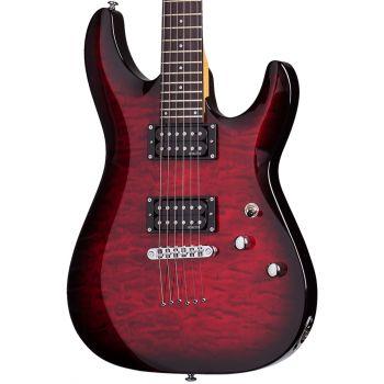 Schecter C-6 Plus See-Thru Cherry Burst. Guitarra Eléctrica