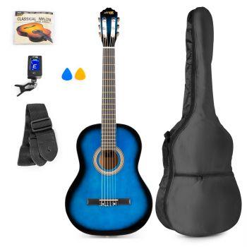 max SoloArt Classic Guitar Pack Blue