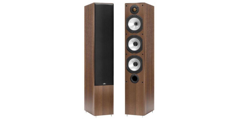 monitor audio mr 6 walnut roble