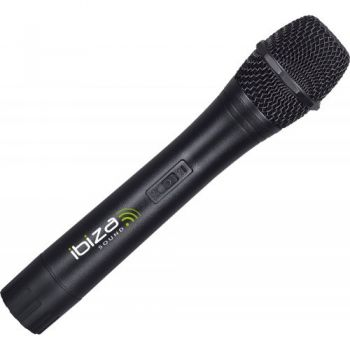 IBIZA SOUND VHF1A MICRO MANO