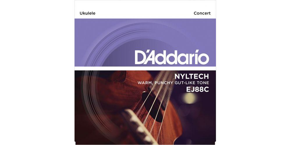 D Addario EJ-88 C Concert Nyl