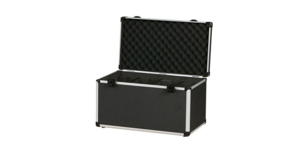 dap audio case for 4x club par d7032 open