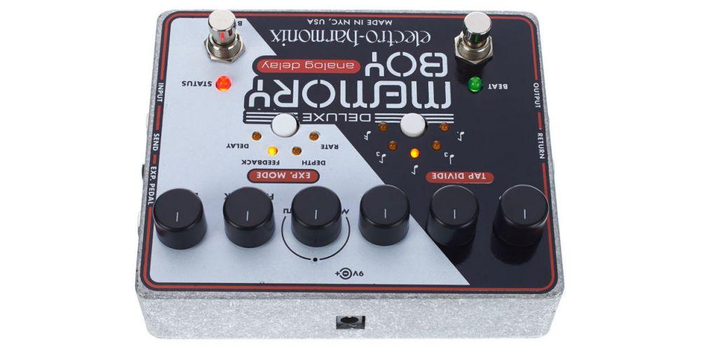 elektro harmonix deluxe memory boy controles