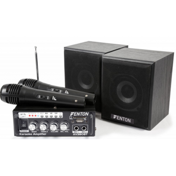 Fenton AV380BT Kit de Amplificador con bafles USB/SD/BT 103145 ( REACONDICIONADO )