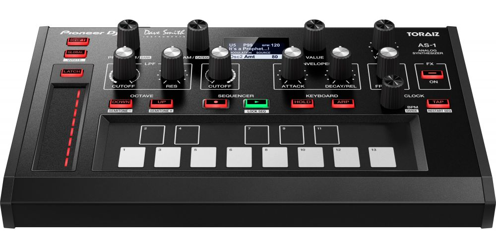PIONEER DJ Toraiz AS-1 sintetizador analógico monofónico