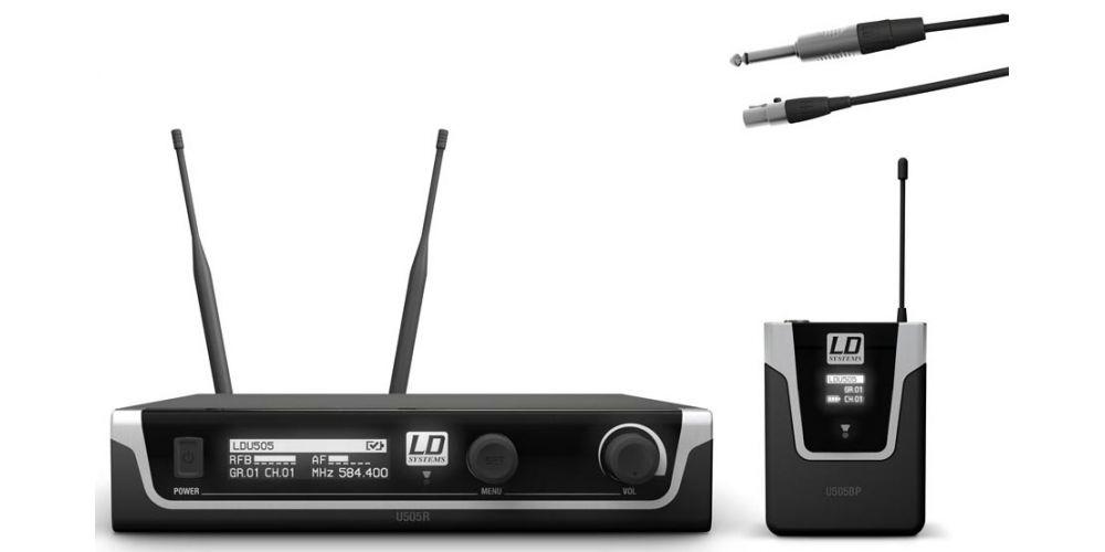 comprar microfono inalambrico U505BPG