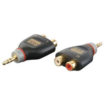 DAP Audio XGA17 Adaptador MiniJack / 2 RCA Hembra