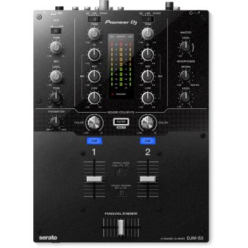 Pioneer DJM S3 Mesa Dj para Serato Dj