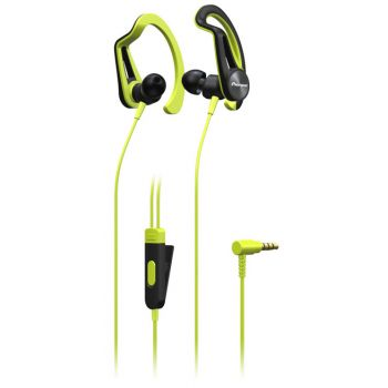 PIONEER SE-E5T Yellow  Auricular Tipo Clip  SPORT
