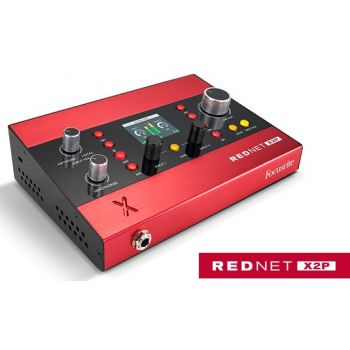 Focusrire REDNET X2P interfaz de audio 2x2 Dante
