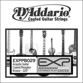 D´addario EXPPB029 Cuerda Suelta para Guitarra Acústica