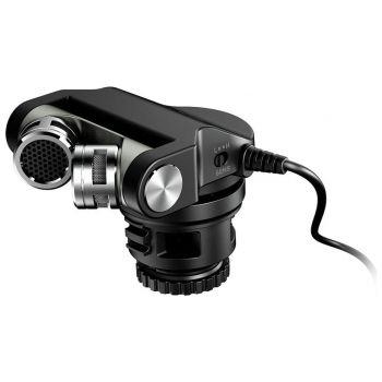 Tascam TM-2X Micrófono de condensador estéreo para cámara