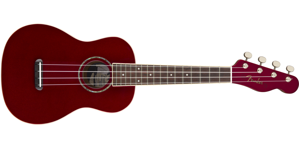 fender zuma classic concert candy apple red