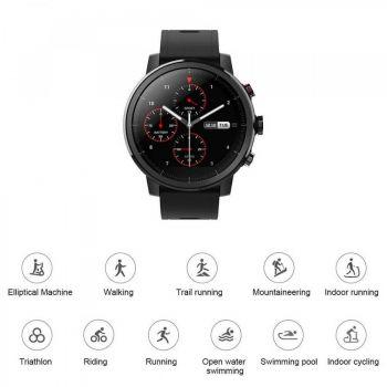 Xiaomi Amazfit Stratos Black Reloj inteligente