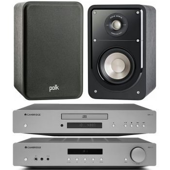 CAMBRIDGE AXA35+AXC25+Polk Audio Signature15  Conjunto Audio
