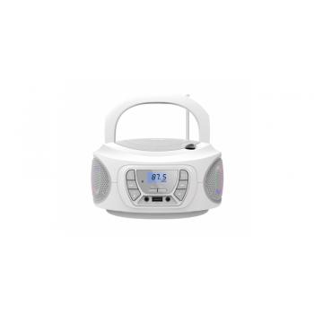 Fonestar BOOM-ONE-B Radio CD Bluetooth USB Blanco