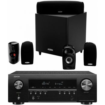 DENON AVR-S650H+Polk Audio TL1600 Conjunto Home Cinema