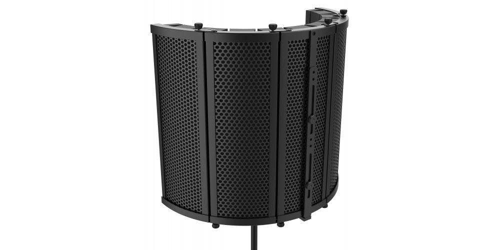 audibax rf10 black pantalla estudio anti reflexiones