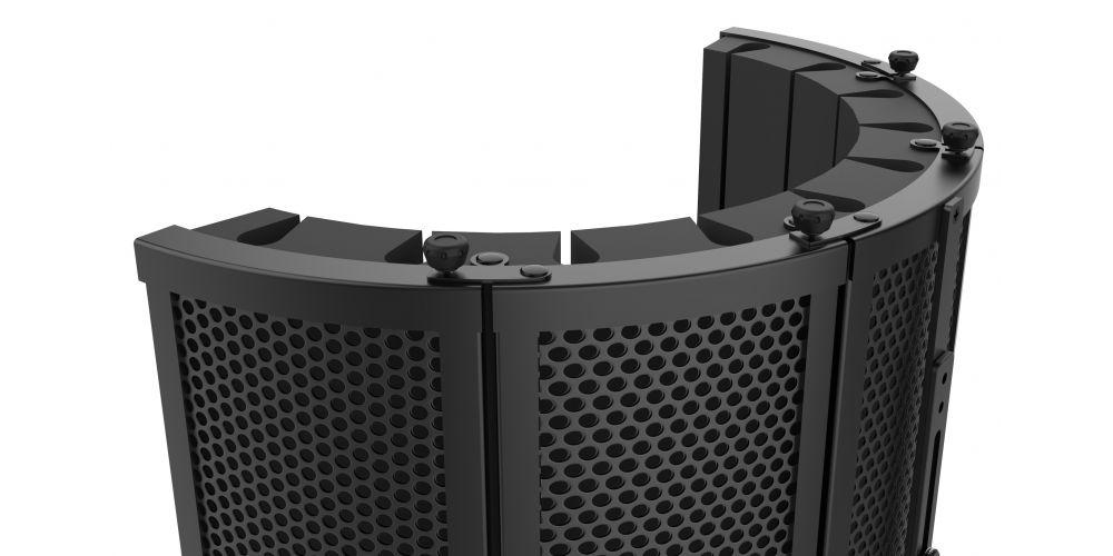 audibax rf10 black pantalla estudio filtro promoción