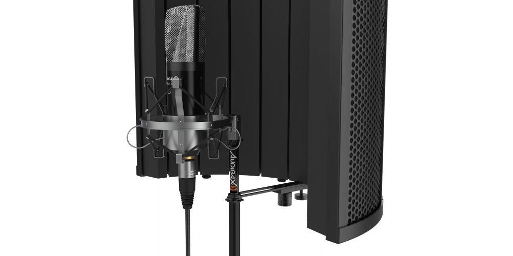 audibax rf10 black pantalla estudio filtro