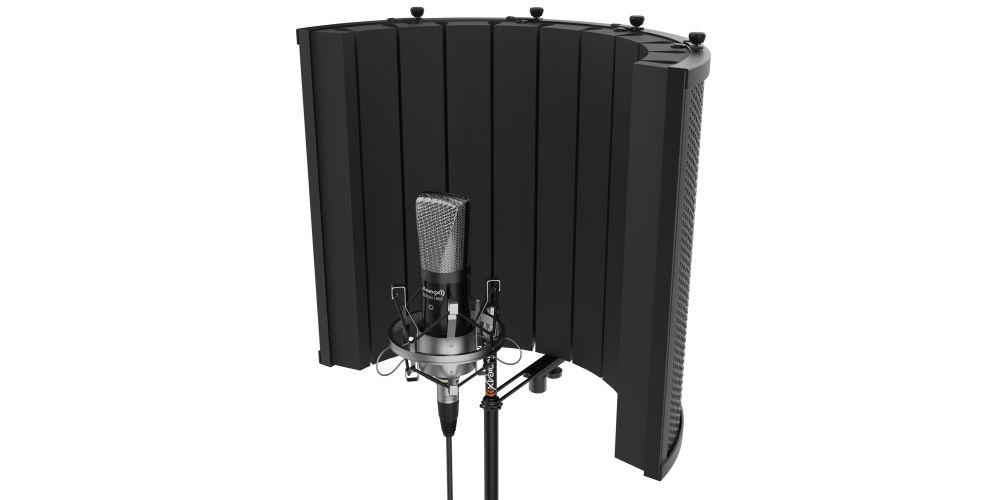 audibax rf10 black pantalla estudio para micrófono